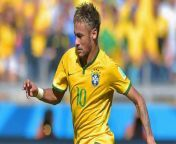 of, world, fifa, neymarvideos, cup, 2014, round, during, the, neymar, brazil, ball, controls, 16