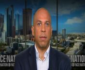 Sen. Cory Booker, D-New Jersey, also a Democratic presidential candidate, joins Margaret Brennan to discuss the fallout of the president's tweets targeting four Democratic congresswomen of color.